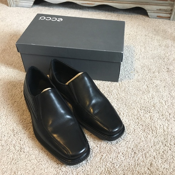 Ecco Shoes Nib Mens Black Dress Poshmark